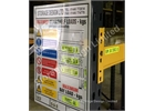 Pallet racking Load data and Beam Load Labels