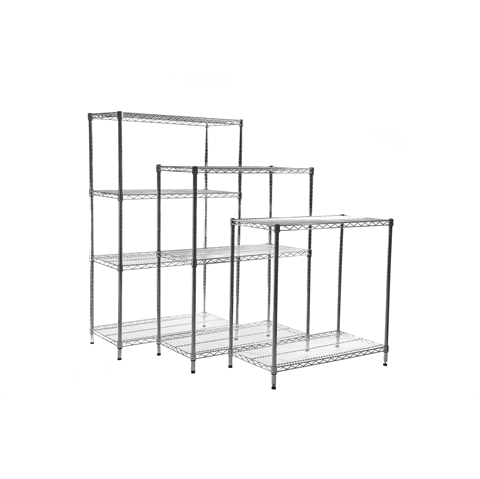 Standard  Chrome Wire Shelving Bays