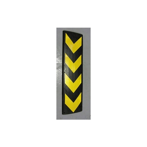 A091 Rubber Wall Guard 800x220x10mm