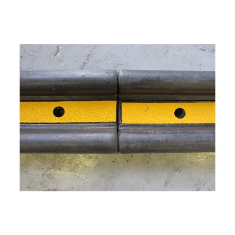 A092 Wall Guard Moulded Rubber 1000x150x55mm