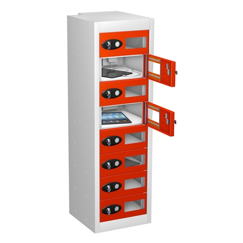 Tablet Charging Vision Panel Lockers