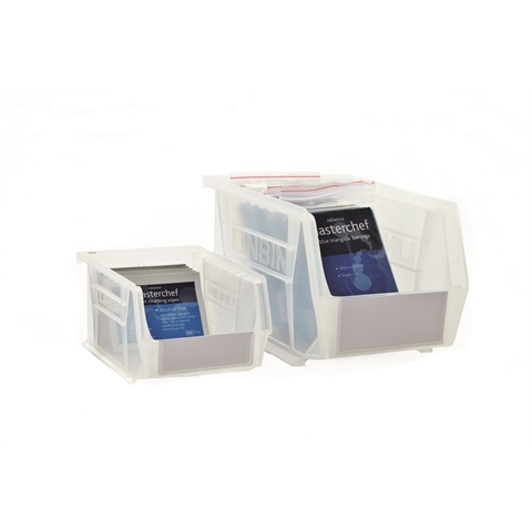 Anti-Bacterial Clear Linbins