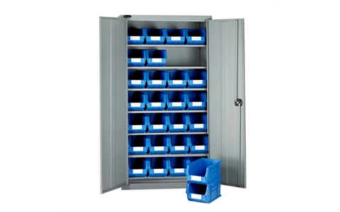 Full Height Standard Cupboards with Linbins