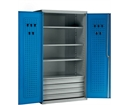 Engineer's Cabinet - 3 Shelves, 4 x 95mm Deep Drawers