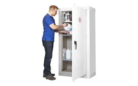 Full Height Heavy Duty Acid & Alkali Storage Cupboards